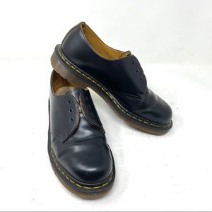 Dr. Martens 1461 men black smooth leather shoes 7
